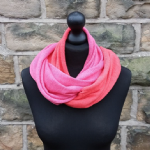 Hope Infinity Scarf Geranium & Light Fuchsia